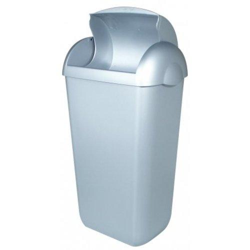 PlastiQline Hygienisk fack plast rostfritt stål utseende