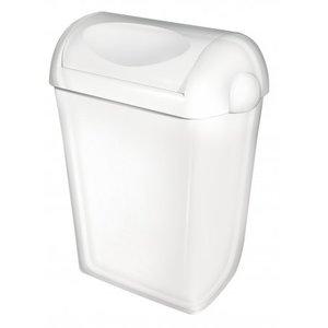 PlastiQline Poubelle plastique pivotant 43 litres