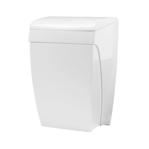 PlastiQline Waste bin with knee operation 8 liter plastic