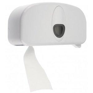 PlastiQline 2020 2-roll blanc en plastique titulaire (doprol)