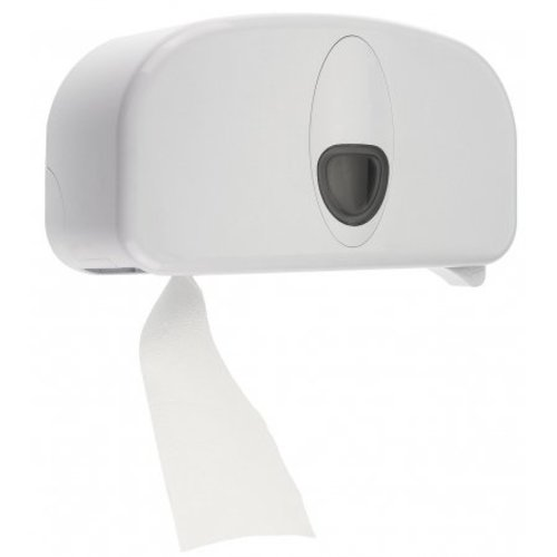 PlastiQline 2020 2-roll blanc en plastique de support (tubeless)