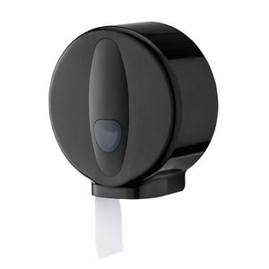 PlastiQline 2020 Jumbo roll dispenser mini plast svart