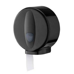 PlastiQline 2020 Jumbo roll dispenser mini plastic black