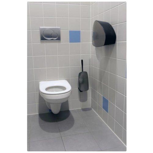 PlastiQline Exclusive Toilet børste indehaver