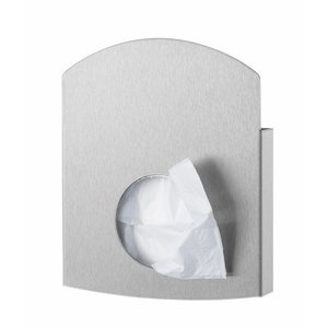 PlastiQline Exclusive acier inoxydable de support de sac hygiŽnique