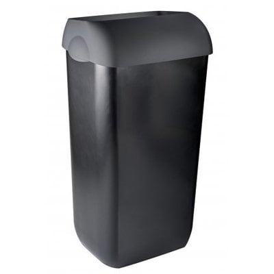 PlastiQline Exclusive Soptunna halvöppna 23 liter