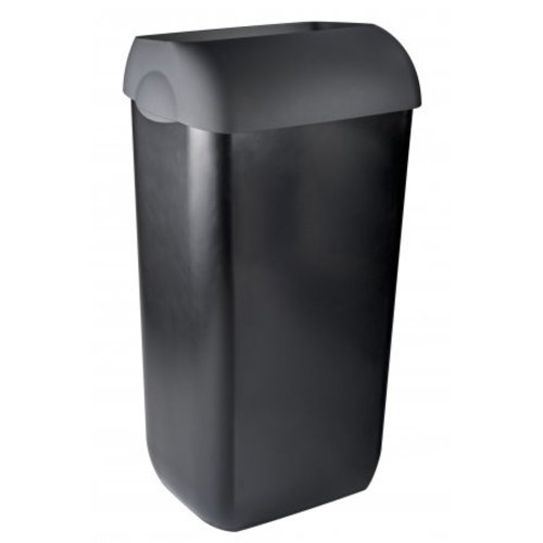 PlastiQline Exclusive Waste bin half open 23 liters