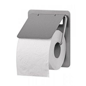 SanTRAL Toilet roll holder 1-roll stainless steel