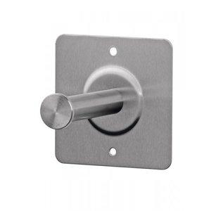 SanTRAL Pice de rechange porte-rouleau 1 rouleau en acier inoxydable