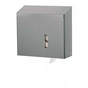 SanTRAL Papirholder 4 ruller i rustfrit stål
