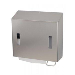 SanTRAL Combinaison savon et distributeur de serviettes en papier