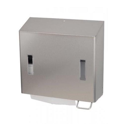 SanTRAL Combination soap & paper towel dispenser