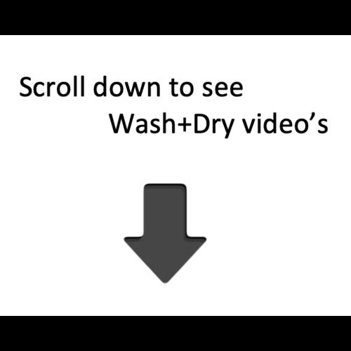 Dyson Airblade Wash + Dry håndtørrer WD06 Vægmontering