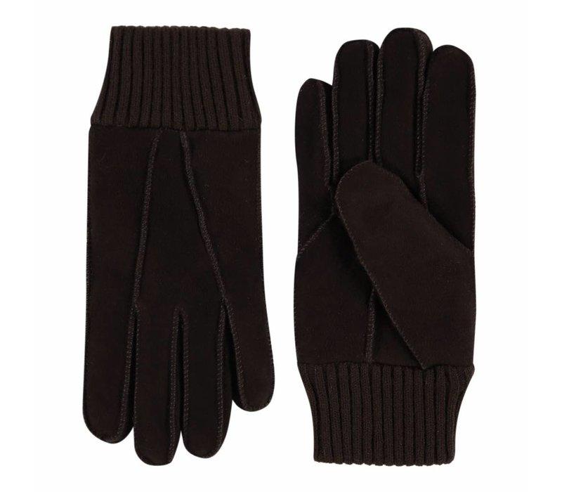 Patchwork lammy ladies gloves model Rave