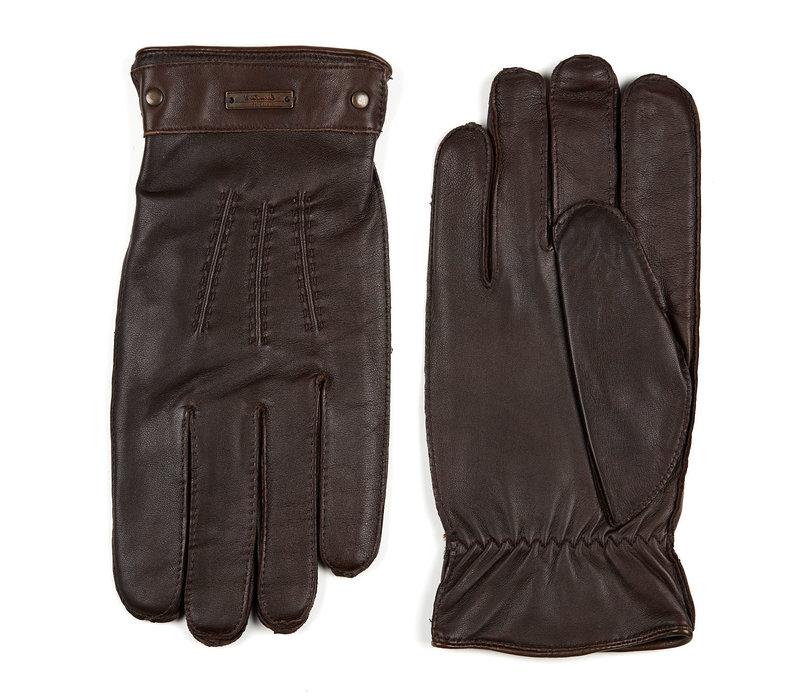 Leren heren handschoenen model Bloxham
