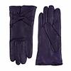 Laimböck Leren dames handschoenen met strik model Bardolino