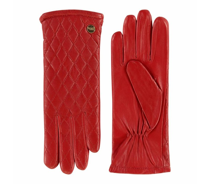 Klassische Leder Damenhandschuhe Modell Landete