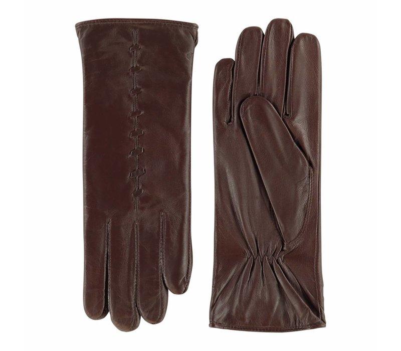 Leren dames handschoenen van lamsleder model Lezuza