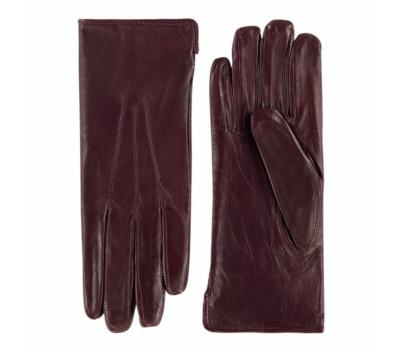 Leather ladies gloves model London