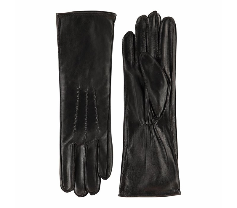 Long nappa leather ladies gloves model Reinoso