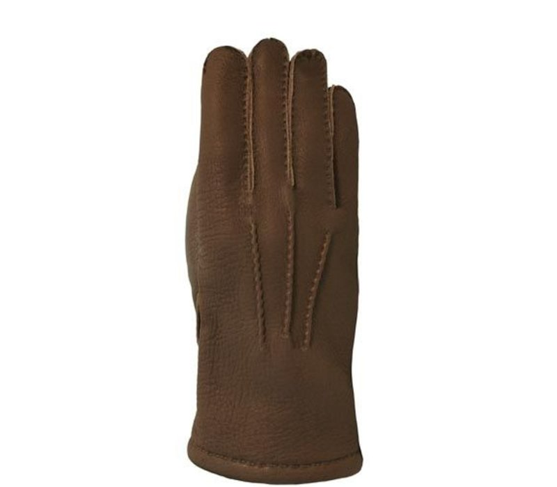 Men's gloves made of Finnish deerskin model Bedale