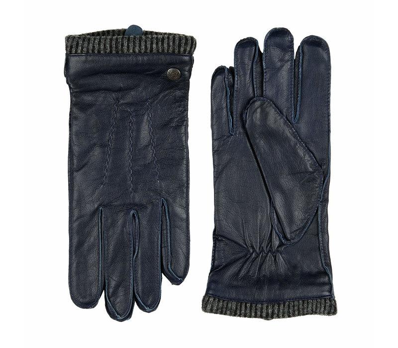 Leder Herren Handschuhe mit Wollmanschette Modell Thornbury
