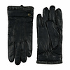 Laimböck  Leather men's glove with woolen cuff model Thornbury