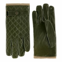 Leather men's gloves model Blacos