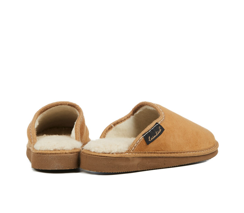 Handmade Lammy slippers model Visby