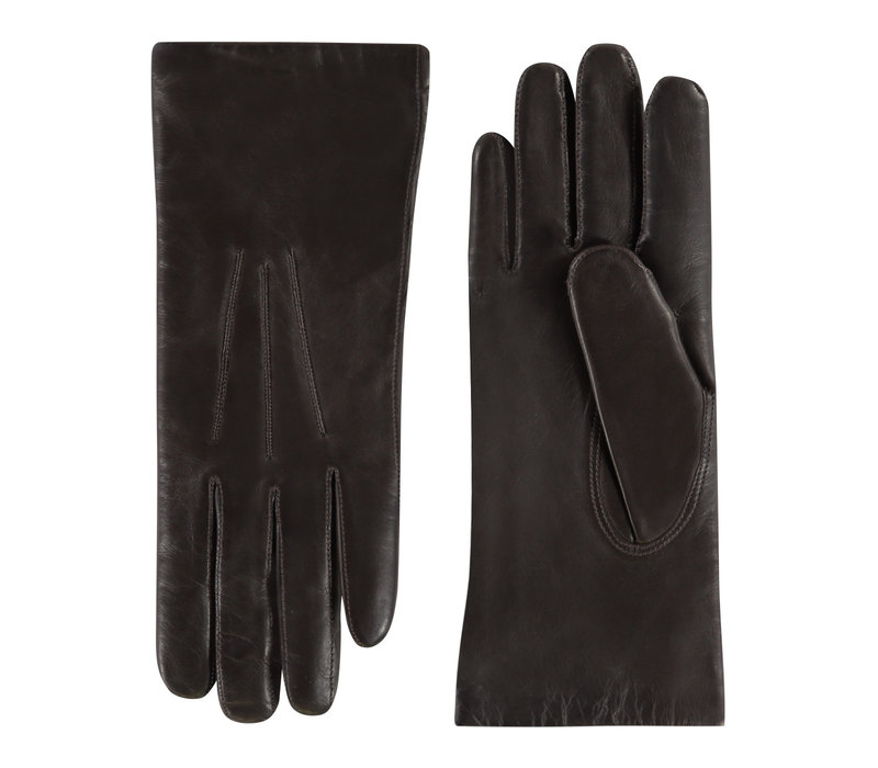 Leren dames handschoenen model Aberdeen