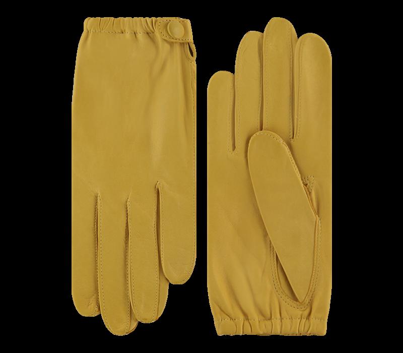 Leather ladies gloves model Apiro