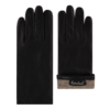 Laimböck Leren dames handschoenen met wollen voering model Dover
