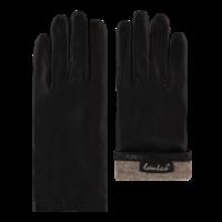 Leren dames handschoenen met wollen voering model Dover