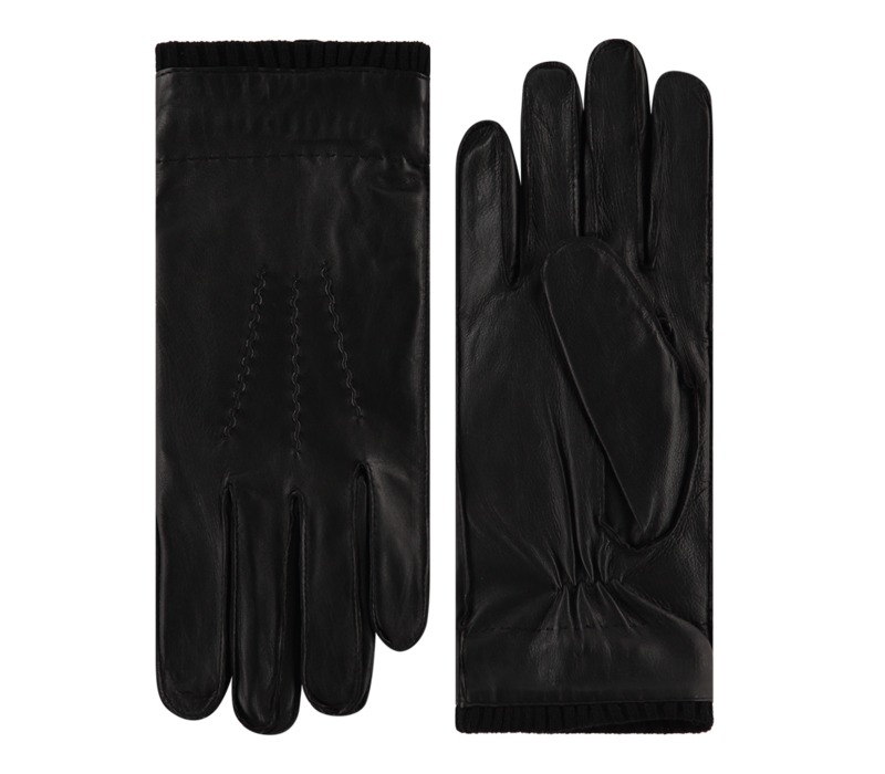 Tough leather men's gloves model Perugia