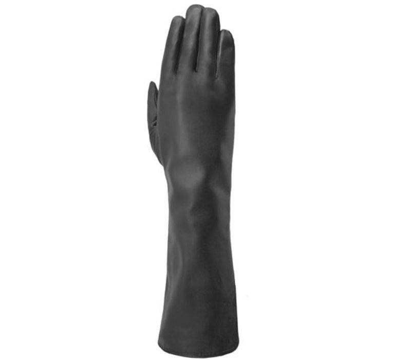 Lange leren dames handschoenen model Isla