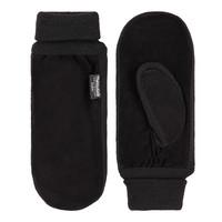 Suede men's mittens model Newport