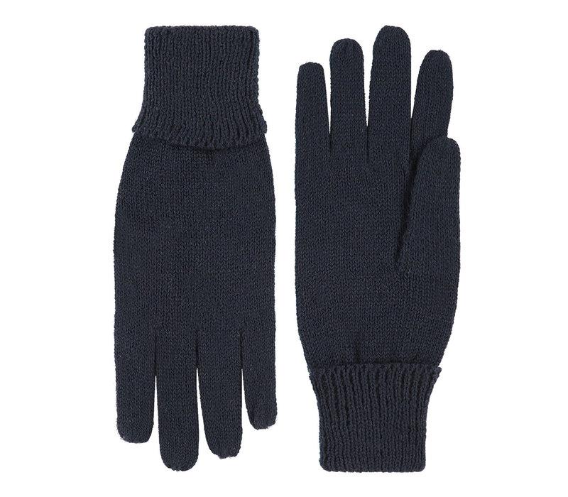 Gebreide dames handschoenen van zuiver wol, model Leipzig