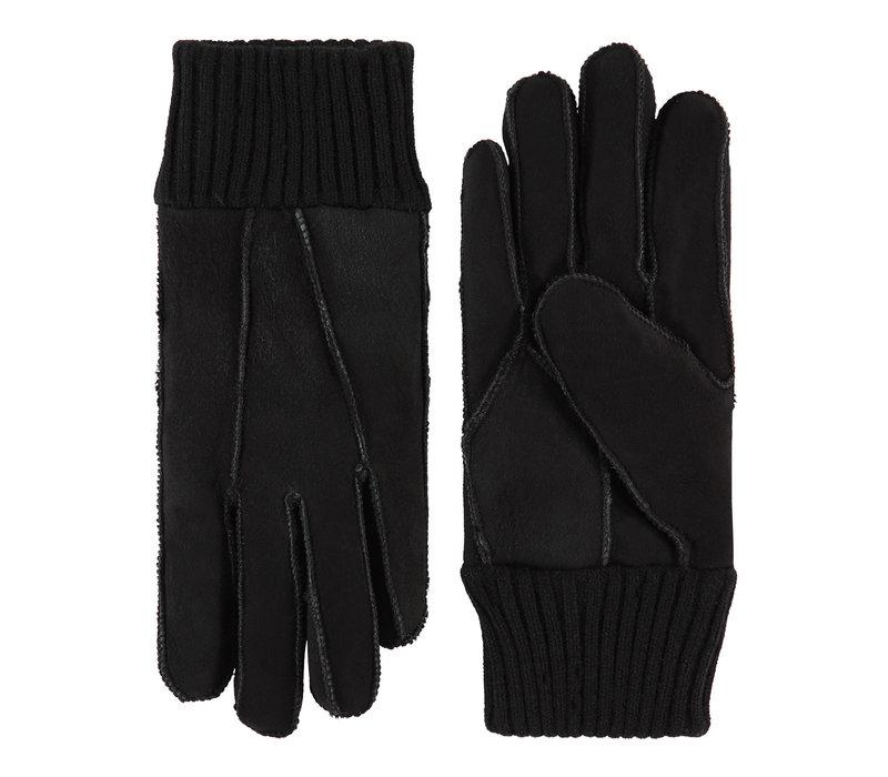 Patchwork lammy dames handschoenen model Rave