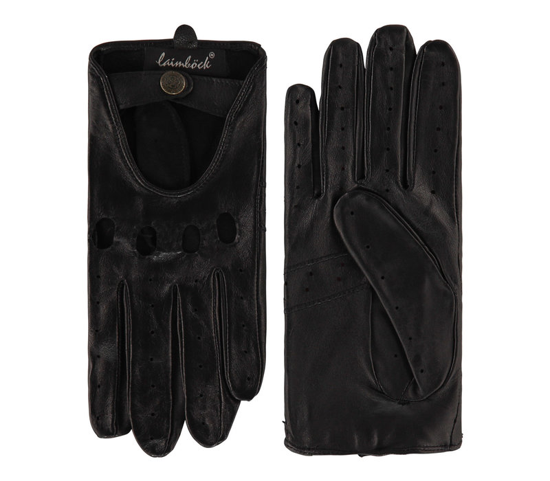 Leather ladies driving gloves model Vada