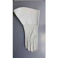 Leather men's gloves model Fanfare