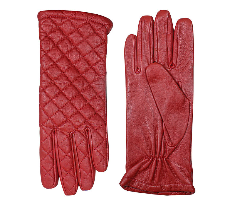 Leather ladies gloves model Palmi