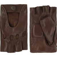 Leather driving gloves for men model Minneapolis