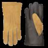 Laimböck  Lammy men's driving gloves with padded upper hand model Sandefjord