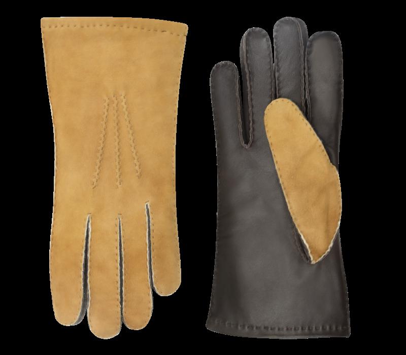 Lammy men's driving gloves with padded upper hand model Sandefjord