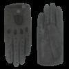 Laimböck Luxus Peccary Leder Herren Autofahrerhandschuhe Modell Bootle