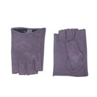 Leder Damenhandschuhe mit Kurzfinger Modell Zapopan
