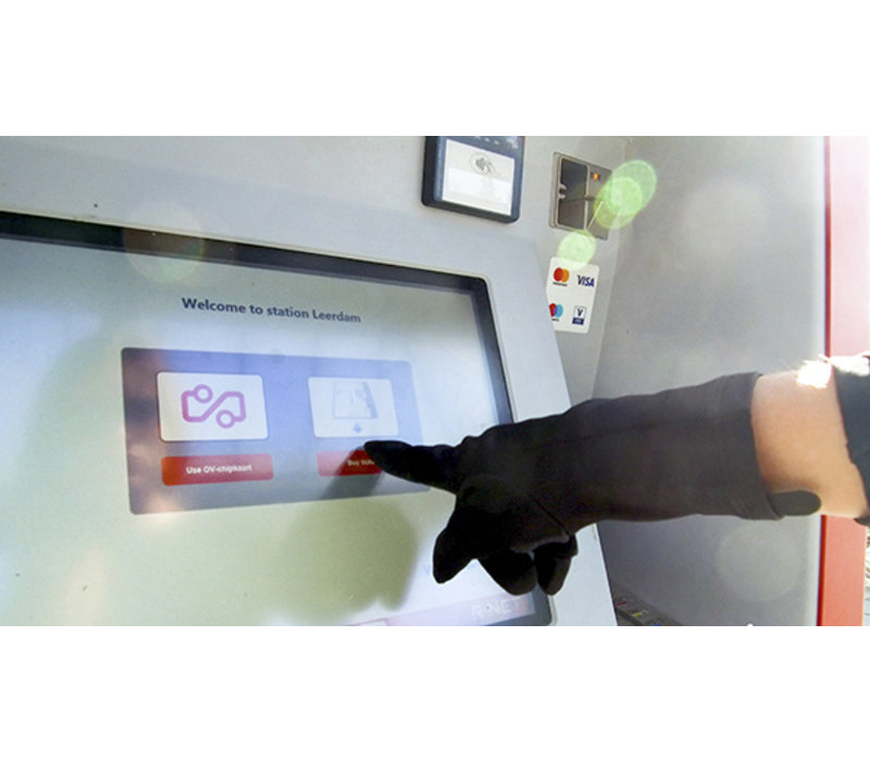 Touchscreen handschoenen unisex Urban (2 paar)