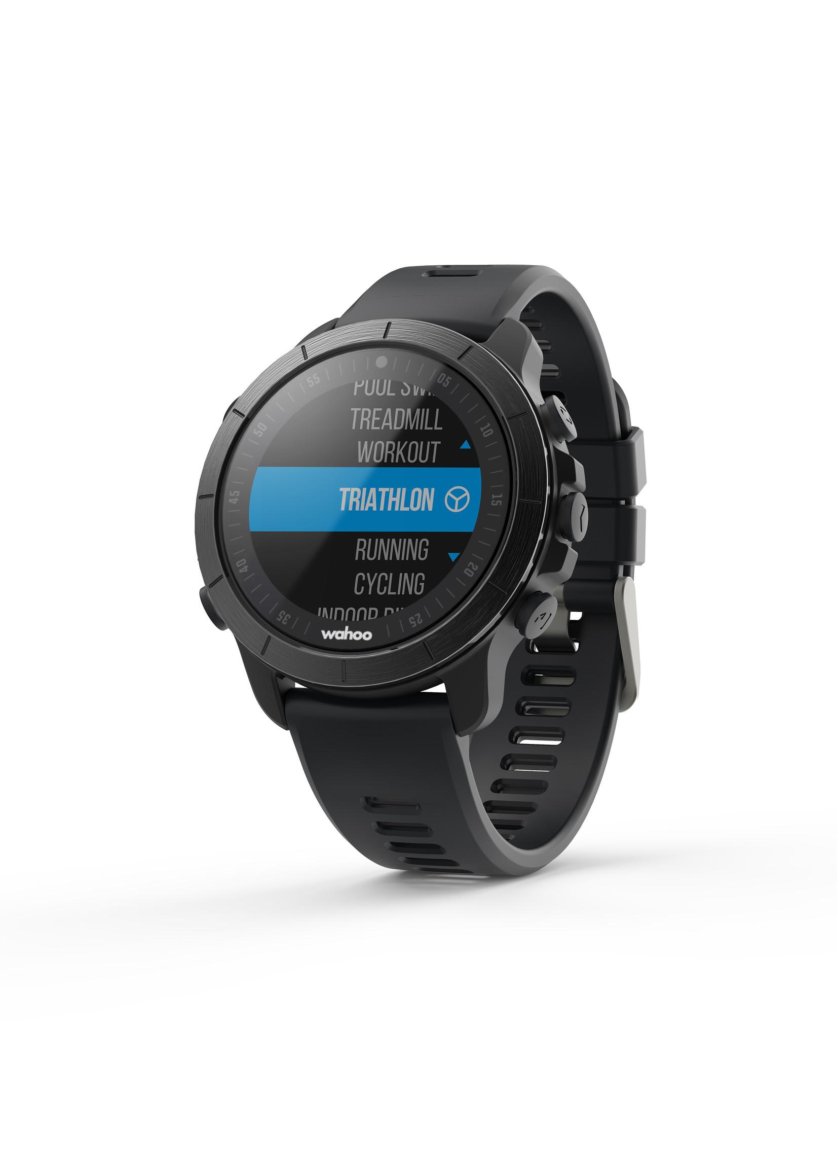 Wahoo ELEMNT RIVAL GPS sporthorloge - Stealth