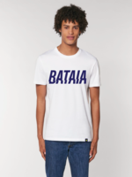 Bataia T-Shirt - Thunder - White/Navy