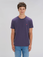 Bataia T-Shirt - All in All the time - Purple/Infrared